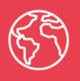 Image of world representing globalization
