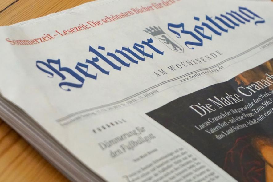 En tysk tidning